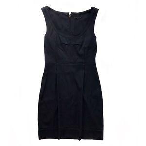 Theory LBD Scoop Neck Sleeveless Zipper Back Dress